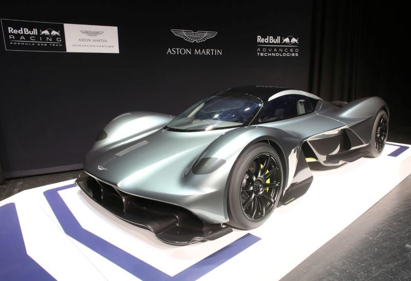 motor racing: the name's red bull, aston martin red bull from 2018