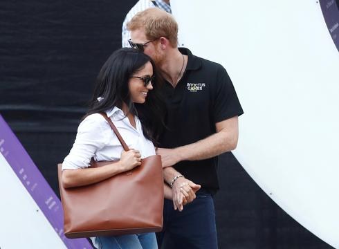Prince Harry and Meghan Markle's first public appearance