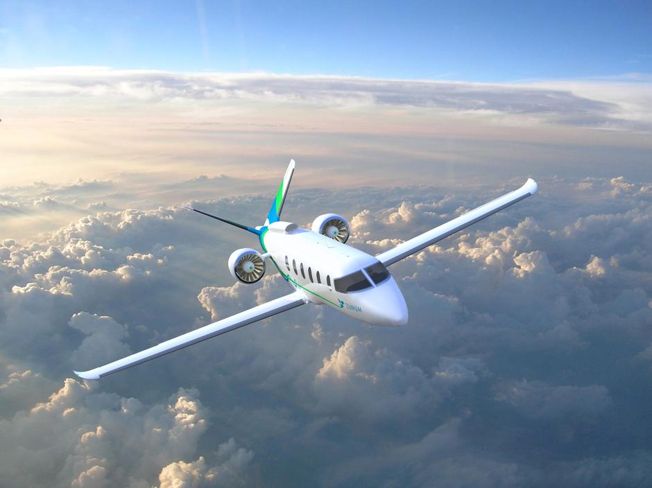 Zunum Aero S Hybrid Electric Aircraft Due To Enter Service In 2022 Is Seen This Undated Artist Rendering Released By On October 5 2017