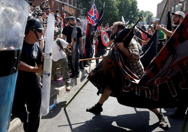 U.S. white nationalists sued over Virginia protest violence