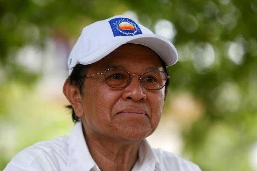US renews call for Cambodia to release opposition leader from prison