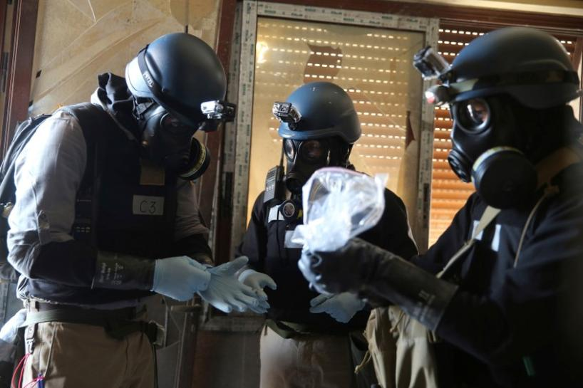 U.S., Russia set for likely U.N. row over Syria toxic gas inquiry