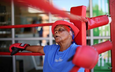 South Africa's boxing grannies