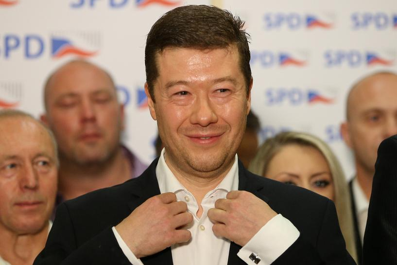 Far-right scores surprise success in Czech election