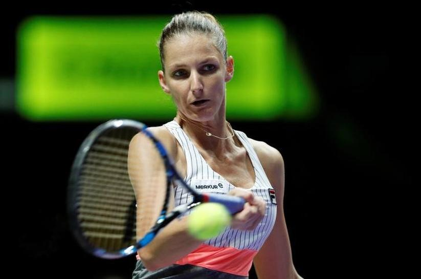 Pliskova delighted with her fast start on Singapore return
