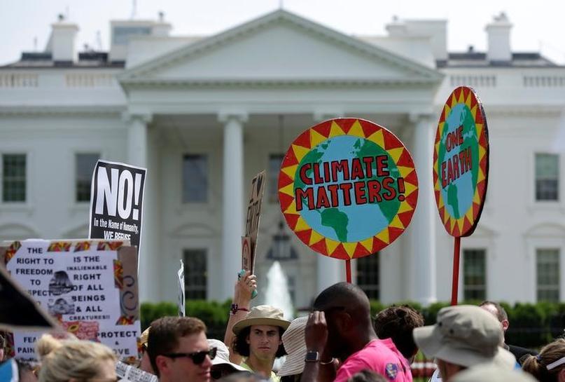 U.S. companies act on climate despite Trump: survey