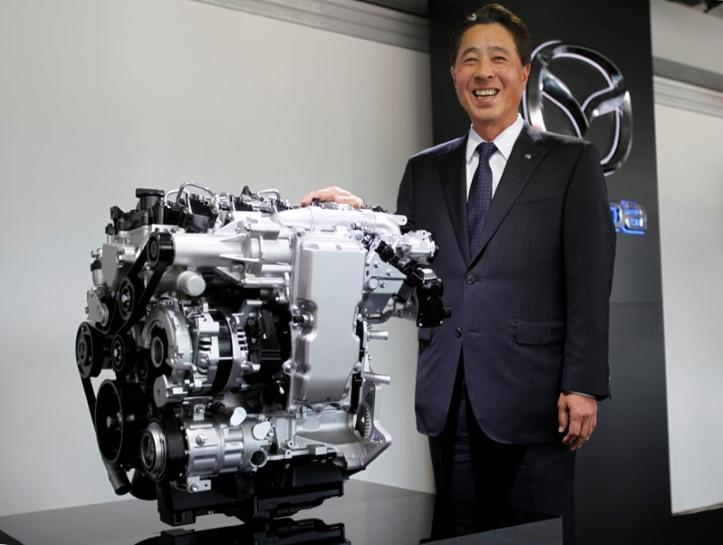 With new technology, Mazda gives spark to gasoline engine