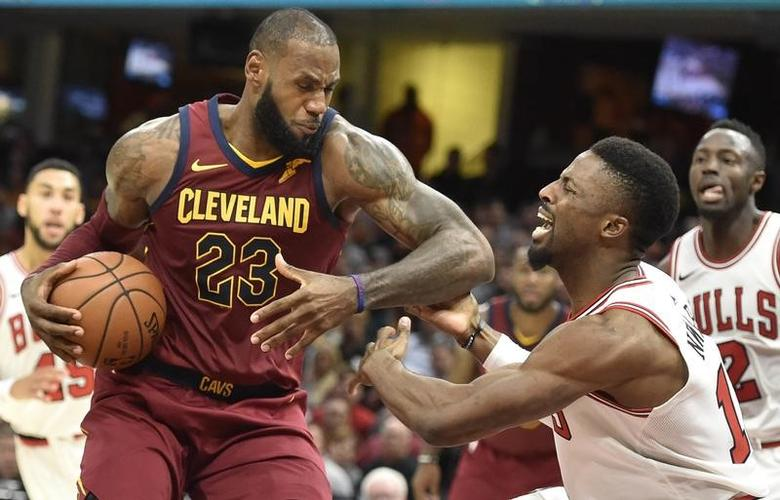 a928e709cdf2 Highlights of Tuesday's NBA games. Oct 24, 2017; Cleveland, OH, USA; Cleveland  Cavaliers forward LeBron James
