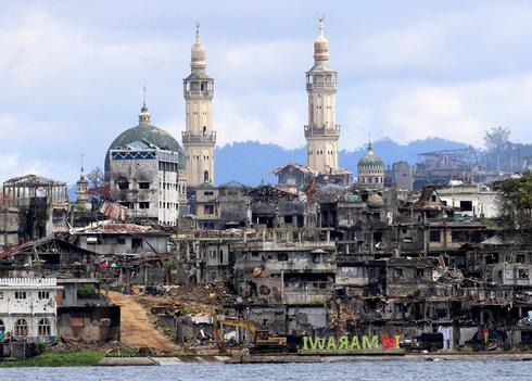 Marawi all but destroyed