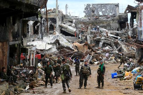 In the ruins of Marawi