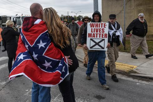 White Lives Matter rally in Tennessee