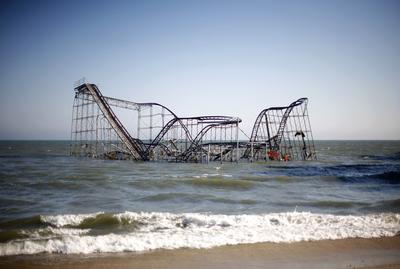 When Hurricane Sandy struck