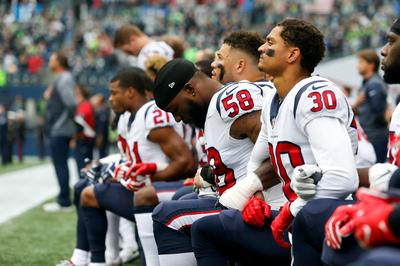 Athletes protest racial injustice