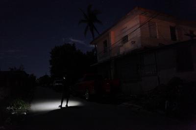 Puerto Rico in the dark