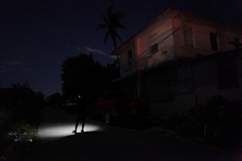 Puerto Rico in the dark