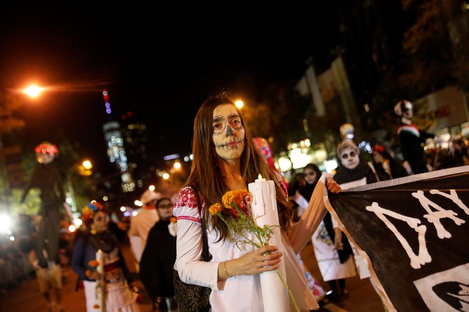 Exuberant and defiant, New Yorkers flock to Halloween parade ...