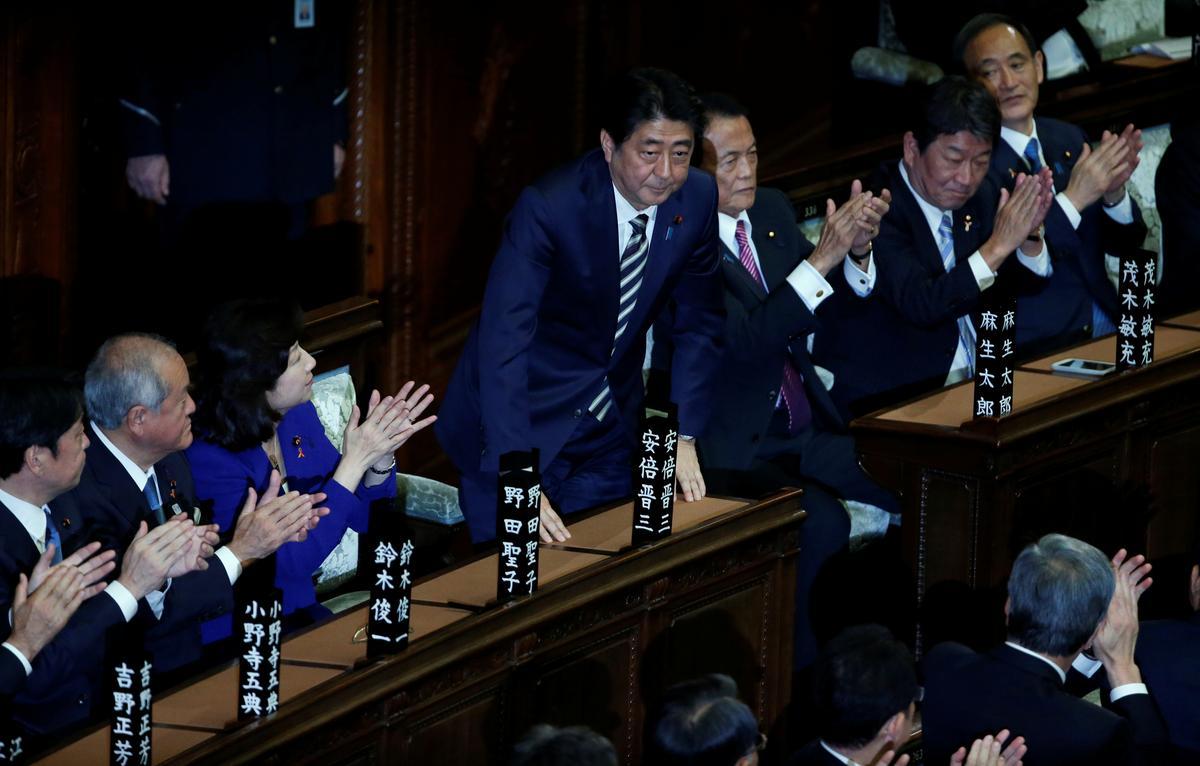 情報BOX:第4次安倍内閣の顔ぶれ