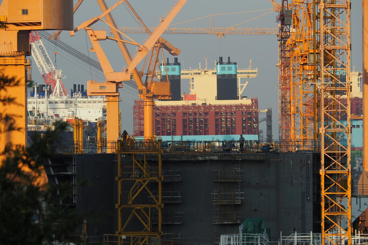 Back from the abyss: South Korea's shipbuilders begin ascent