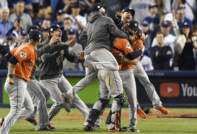 Astros win World Series