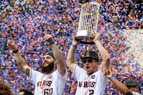 Astros World Series parade