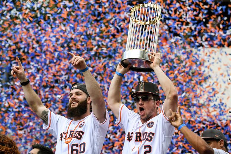 Astros World Series >> Astros World Series Parade Reuters Com