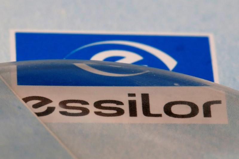 4771ccae03ebe FILE PHOTO  Lens producers Essilor  s logo is seen in an optician shop in  Paris