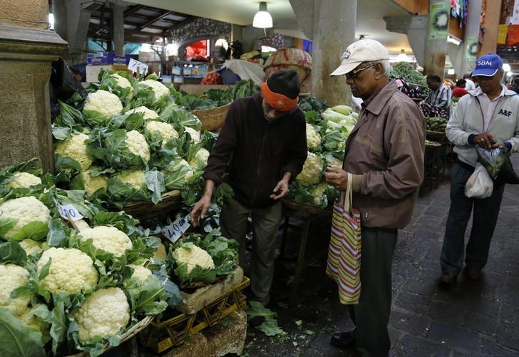 Mauritius inflation rate unchanged at 3 5 percent yr/yr in