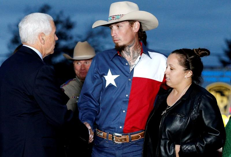 Pence pays tribute to fallen and heroes from Texas massacre