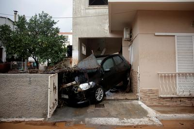 Deadly flash floods in Greece