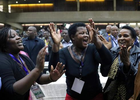 Zimbabwe's ruling party fires Mugabe