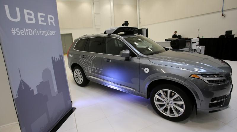 Volvo Cars To Supply Uber With Up To 24 000 Self Driving Cars Reuters