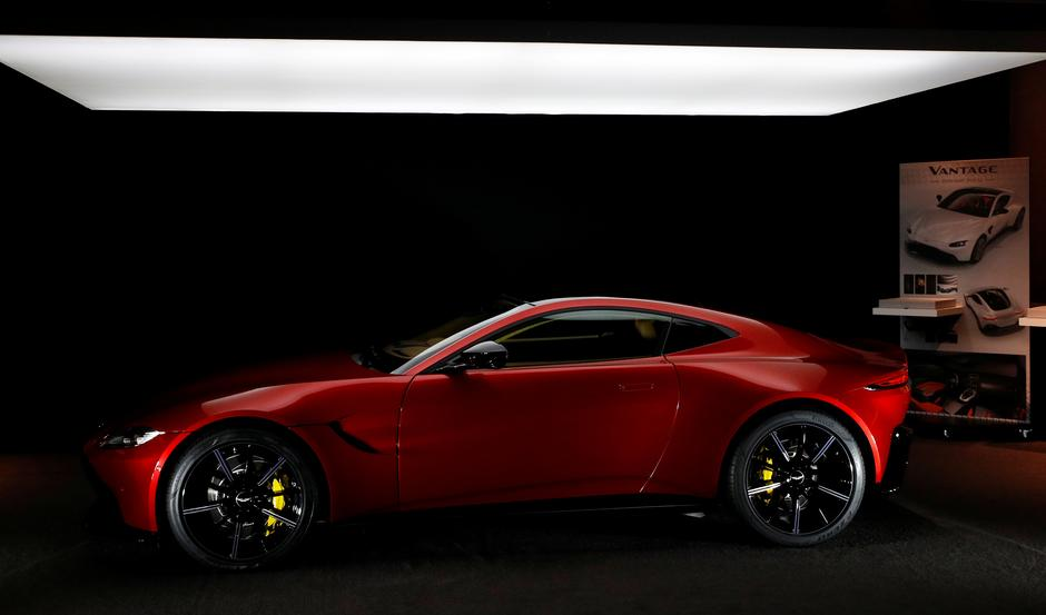 Aston Martin\'s turnaround plan moves up a gear with Vantage model