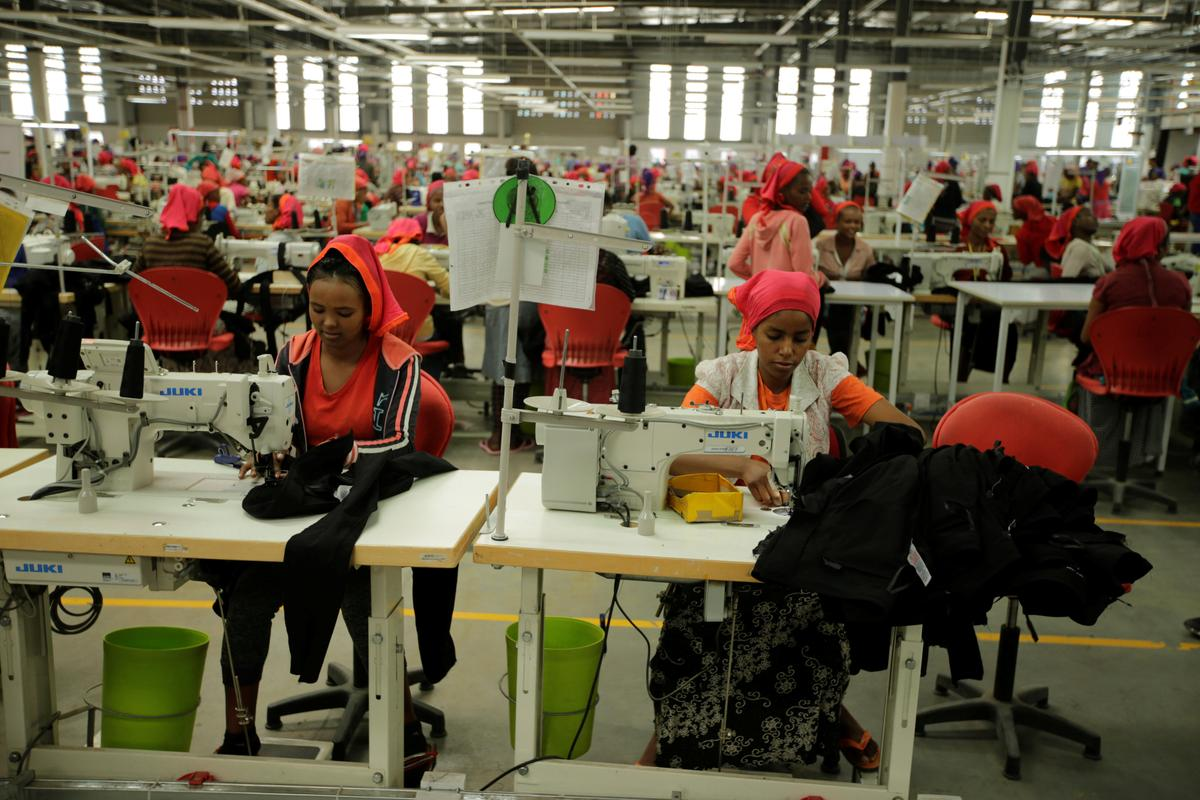Ethiopia bets on clothes to fashion industrial future - Reuters