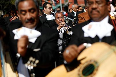March of the mariachis