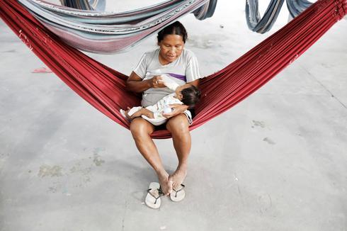 Venezuela's indigenous flee to Brazil