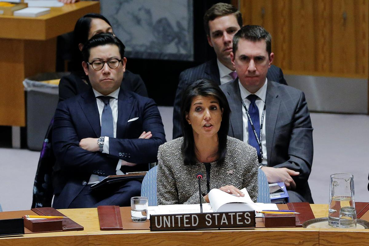 65e5dc945 U.S. warns North Korean leadership will be  utterly destroyed  in case of  war - Reuters