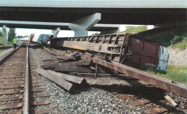 Growing length of U S  freight trains in federal crosshairs