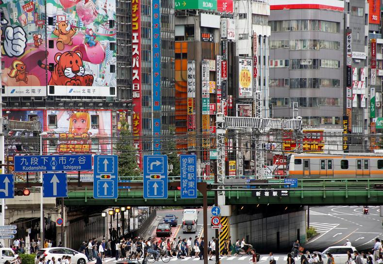 japans growing economy