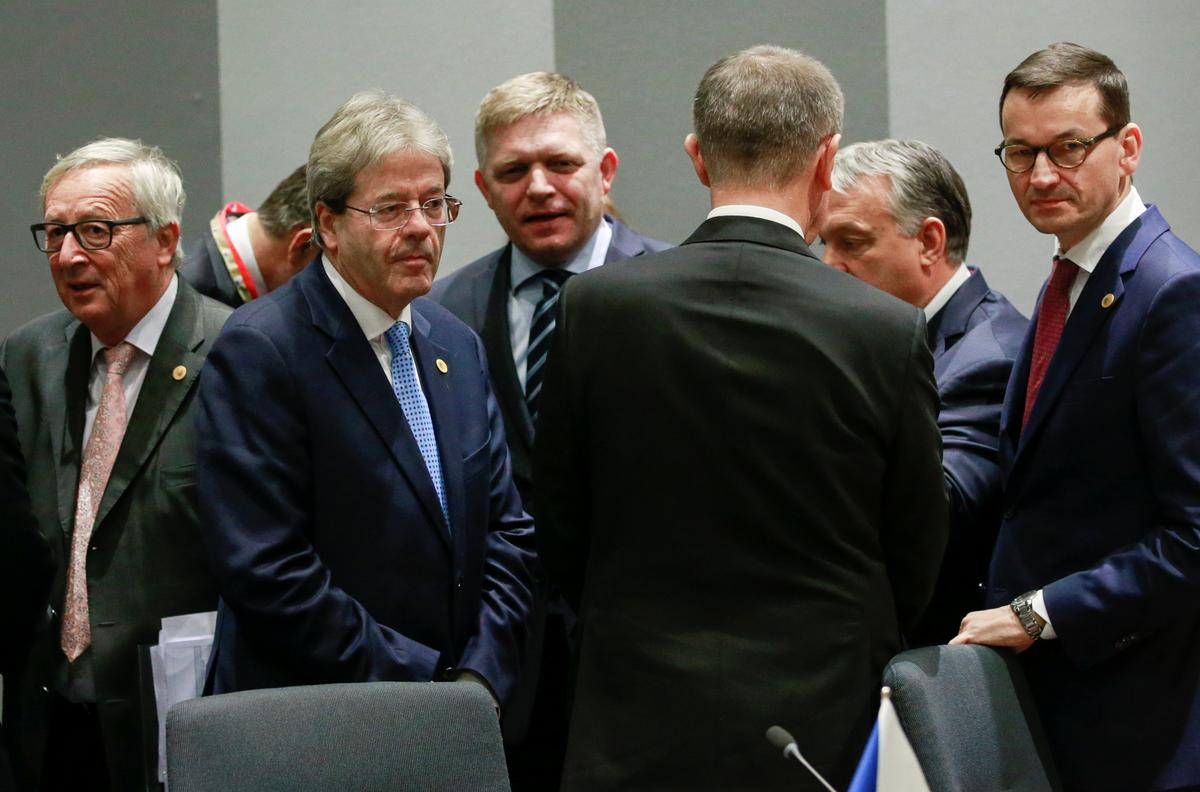 EU's new eastern leaders stick to guns on refugees