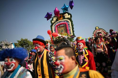 Pilgrimage of the clowns