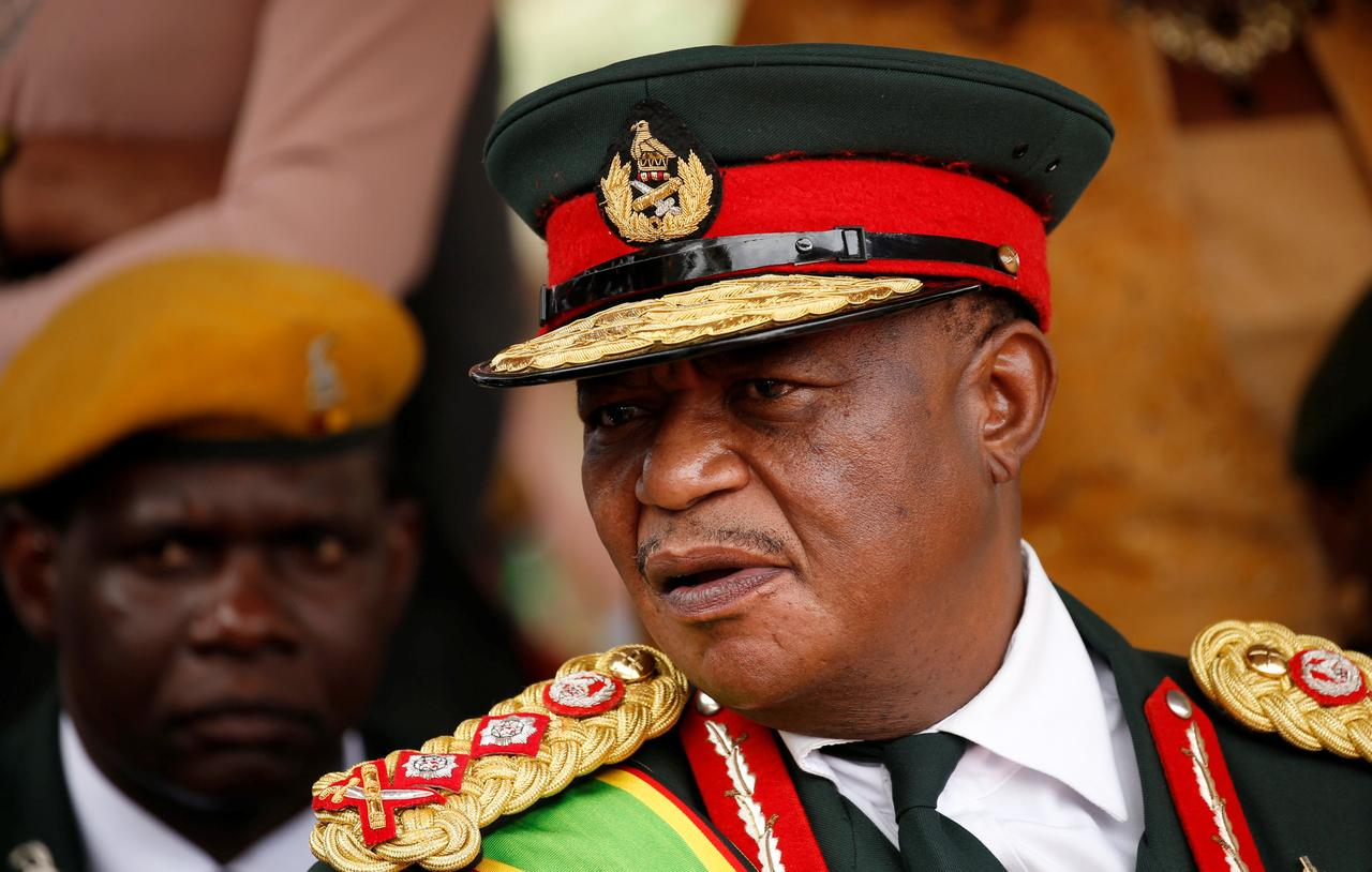 Image result for Zimbabwe's military leader Chiwenga set to retire