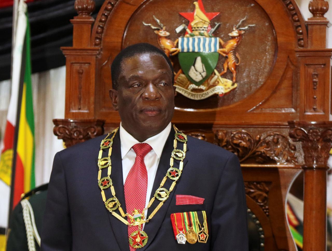Image result for Mnangagwa parliament