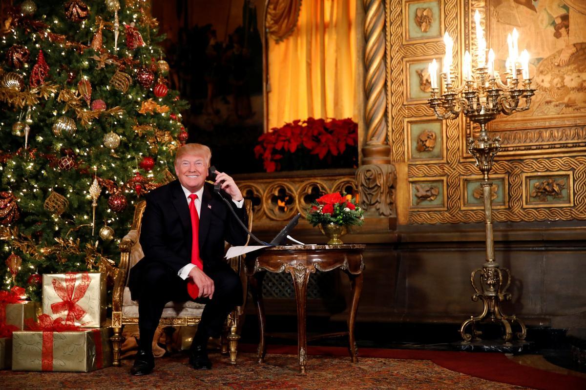 Trump's Christmas wish: 'We've got prosperity. Now we want peace'