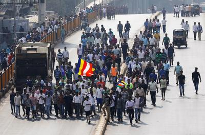 Dalit protests in Mumbai