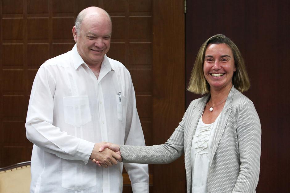 Image result for Federica Mogherini Cuba, EU