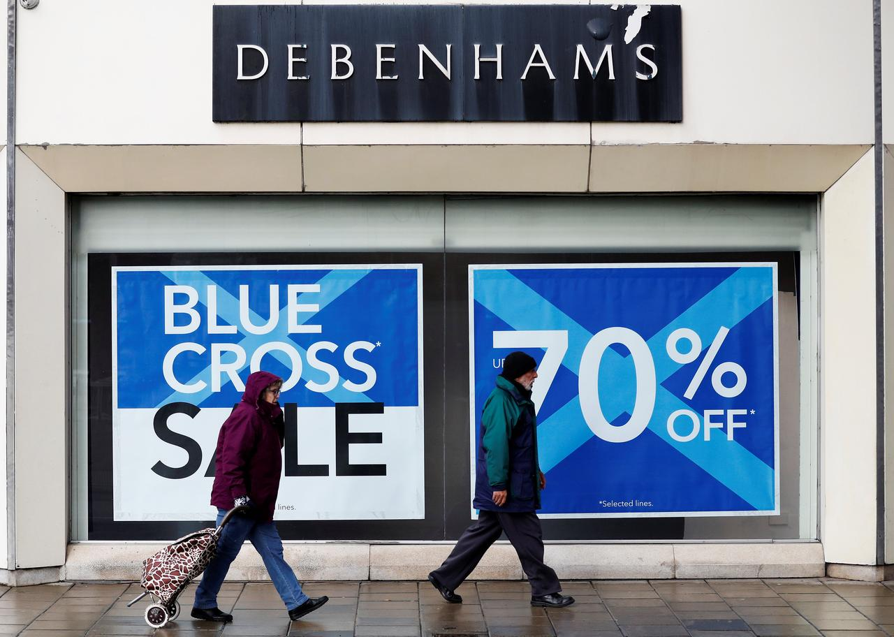 Debenhams Christmas Nightmare Sours Mood On Uk High Street