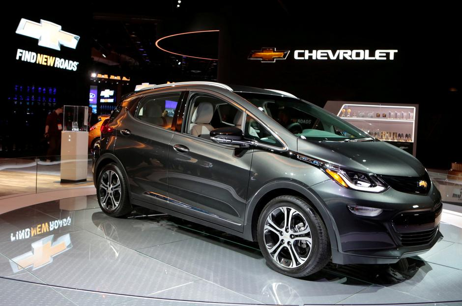 File Photo A 2018 Chevrolet Bolt Ev Is Displayed During The North American International Auto Show In Detroit Michigan U S January 9 2017