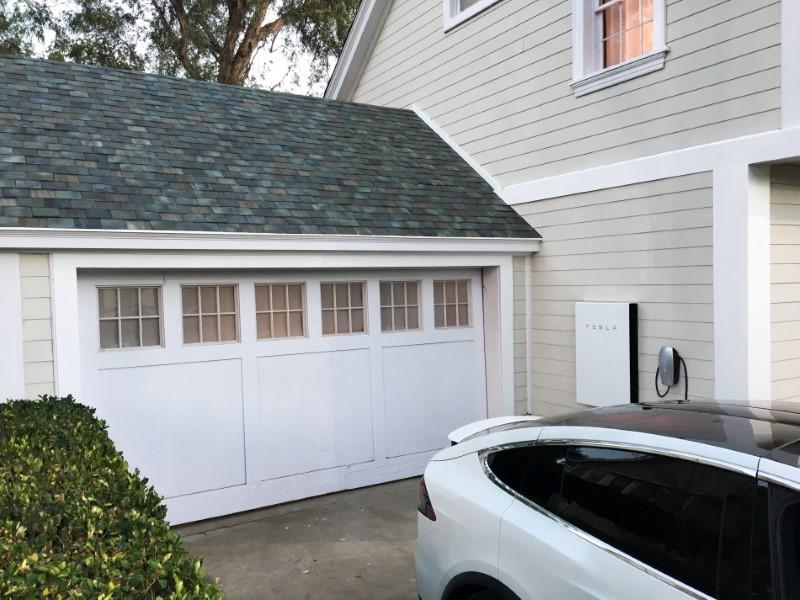 Tesla says solar roof production has started in Buffalo