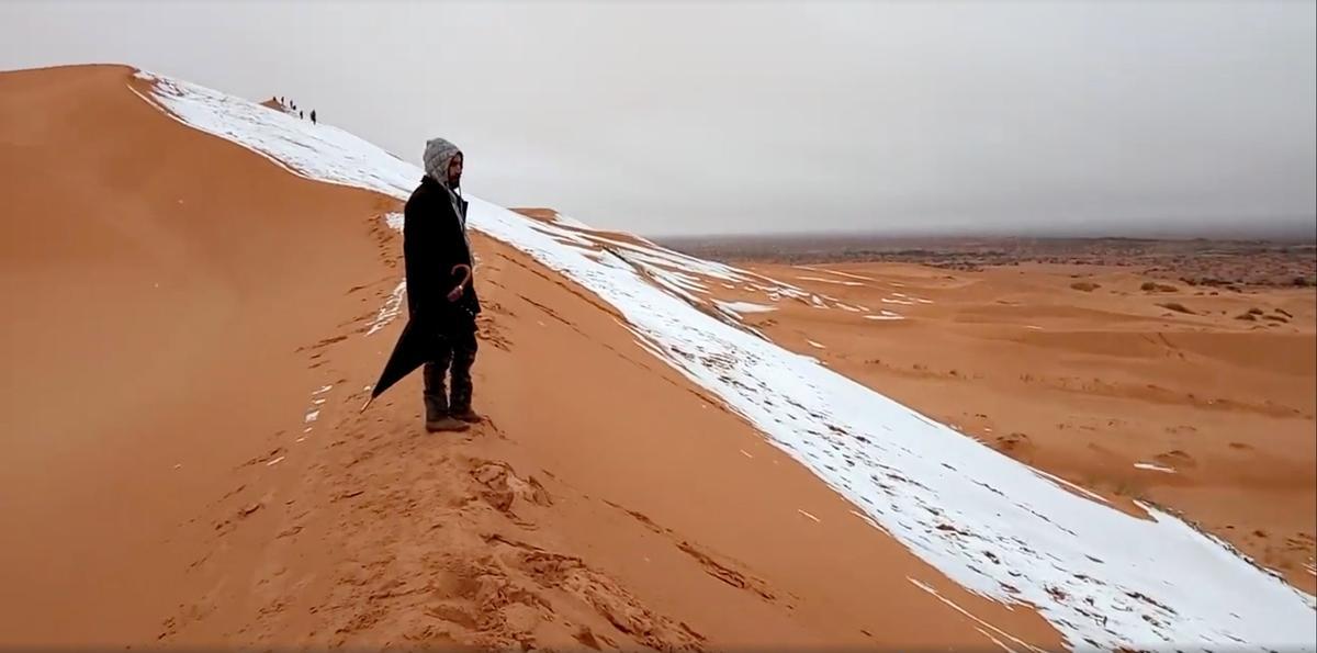 「サハラ砂漠 雪」の画像検索結果