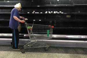 Venezuela's empty shelves
